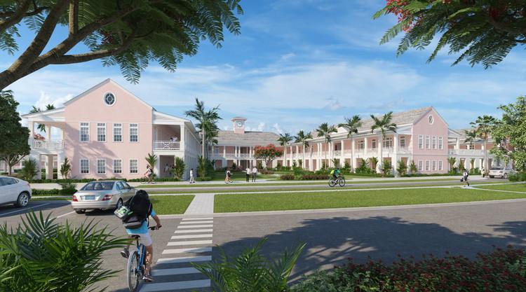 Lyford Cay international Baccalaureate School - Nassau, Bahamas . Image Courtesy of Cooper Robertson