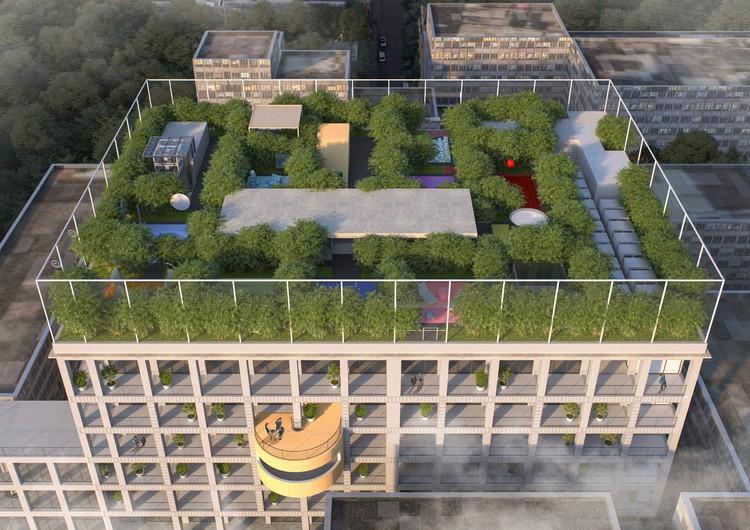MVRDV Transforms Disused Urban Factory into Creative Hub in Shenzhen, China, Courtesy of MVRDV