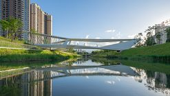 Pedestrian Bridge of Pingshan High School / NODE Achitecture & Urbanism