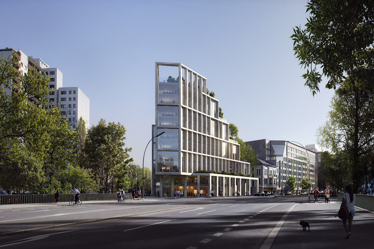 C.F. Møller Architects Wins International Competition to Design Headquarters for German Bank Berlin Hyp, Courtesy of C.F. Møller Architects