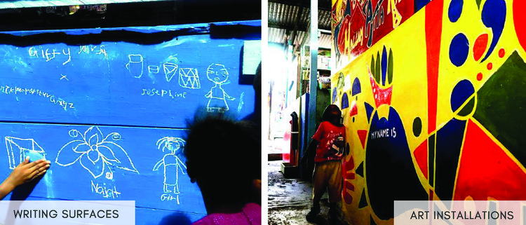 Child Play Spaces in Malata & Nima Markets - Accra, Ghana. Image Courtesy of UN-Habitat