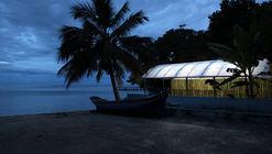 Quiosque e abrigo de canoas / Estudio Flume