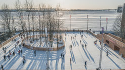 Ice Rink by the Sea  / AB CHVOYA