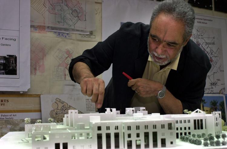 Renowned Egyptian Architect Abdelhalim Ibrahim Abdelhalim Wins 2020 Tamayouz Lifetime Achievement Award, Dr Abdelhalim Ibrahim Abdelhalim . Image Courtesy of TAMAYOUZ EXCELLENCE AWARD