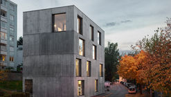 Estudio Klostergasse / Bernardo Bader Architekten