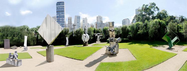 """Live FAAP """"Vida urbana pós-pandemia: novo normal?"""", com Bete França, Jardim das Esculturas - FAAP (Fernando Silveira)"""