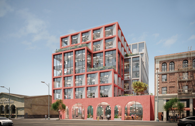 Hawkins\Brown Designs Mixed-Use Tower for Hollywood, Courtesy of Hawkins\Brown