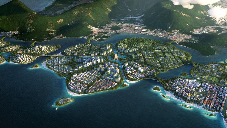 BIG, Hijjas e Ramboll vencem concurso para um masterplan em arquipélago na Malásia, Cortesia de BIG
