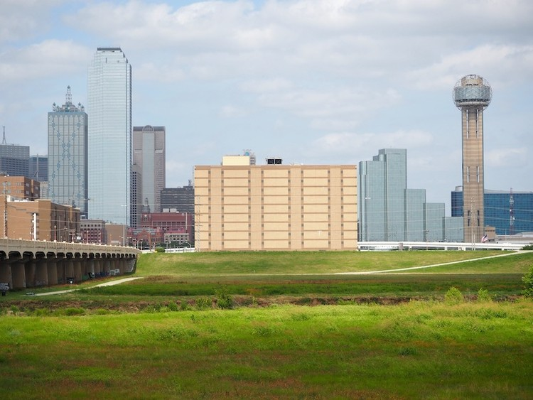 """Weiss/Manfredi to Reimagine Dawson State Jail, the """"Ugliest Building in Dallas"""", Courtesy of Trinity Park Conservancy"""