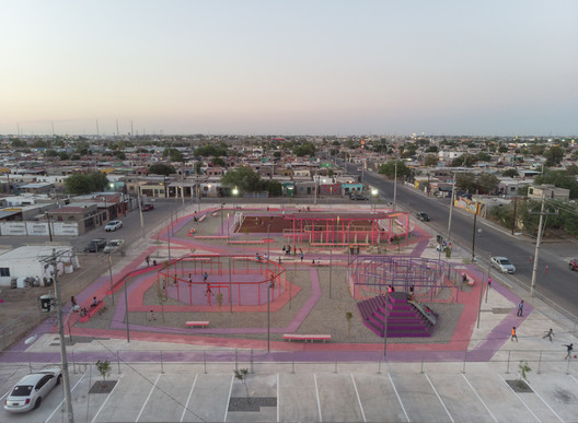 Kinder Park in Mexicali / DVCH DeVillarCHacon