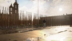 Rojkind Arquitectos presenta memorial efímero para víctimas de la pandemia en Nueva York y Ciudad de México