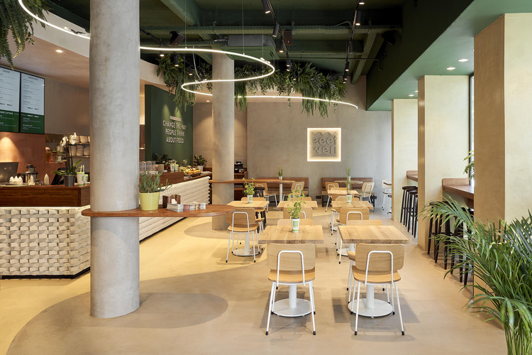 Eeetwell Restaurant / WeWantMore, © WeWantMore – Nicolas Sainderichin