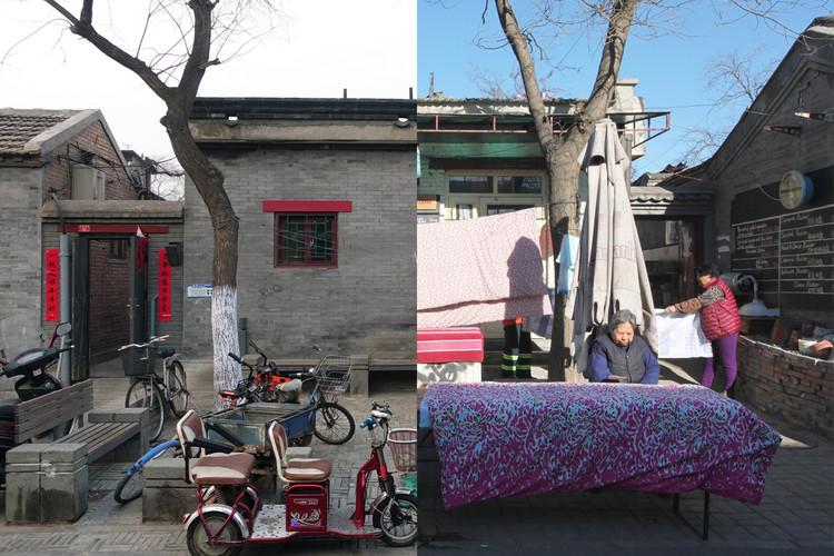 ANTES/DESPUÉS: Un registro de la transformación urbana de los Hutongs de Pekín, Cortesía de OPEN Architecture