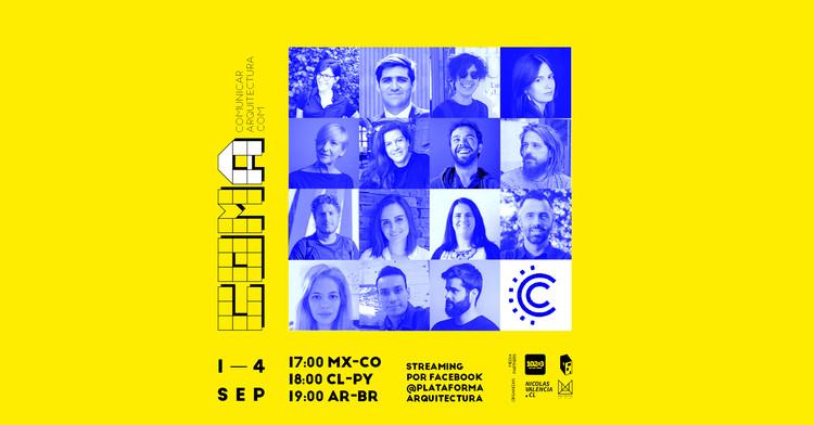 COMA 2020: Primer Encuentro Iberoamericano de Comunicadores de Arquitectura, COMA 2020: Primer Encuentro Iberoamericano de Comunicadores de Arquitectura. Image Cortesía de COMA
