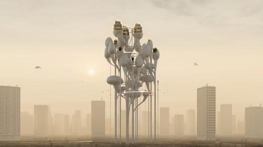 Force Majeure - Futura. Image Courtesy of Jeanne Schultz Design Studio