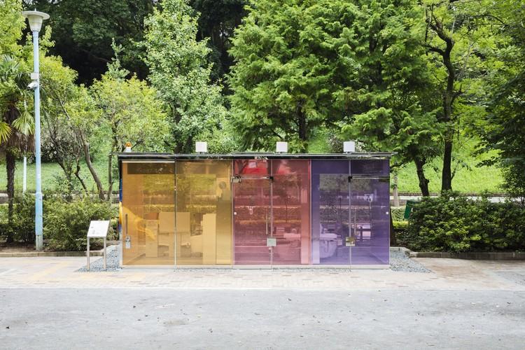Banheiro Público Yoyogi Fukamachi / Shigeru Ban Architects, © Satoshi Nagare, Courtesy of The Nippon Foundation