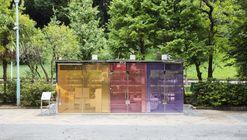 Baño público Yoyogi Fukamachi / Shigeru Ban Architects