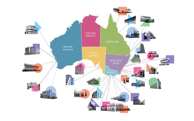 Mapa explora el legado brutalista de Australia, © Budget Direct