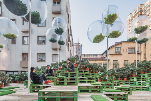 Urban Bloom / AIM Architecture + URBAN MATTERS. Image: © URBAN MATTERS by MINI, CreatAR Images