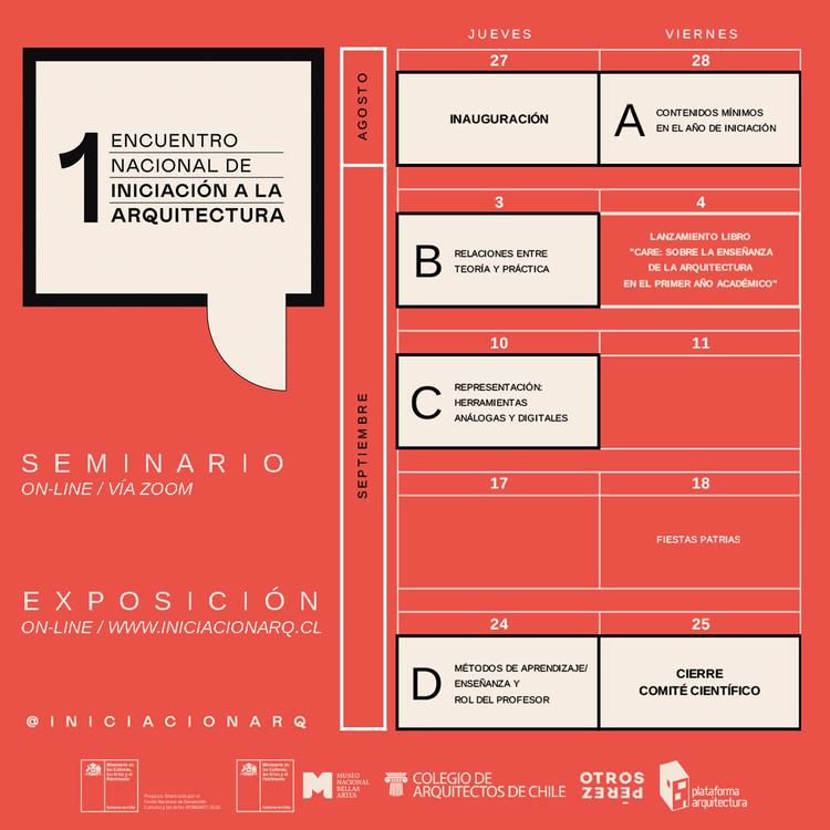 El Primer Encuentro Nacional de Iniciación a la Arquitectura en Chile, Identidad gráfica diseñada por 'Otros Perez'