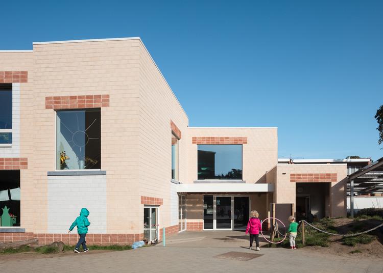 School in Edegem / Bovenbouw, © Stijn Bollaert