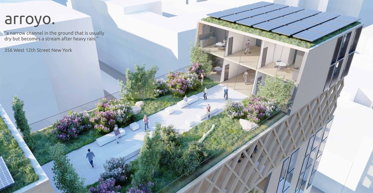 Perkins and Will Reveals Winners of the 2020 Phil Freelon Design Competition, Arroyo. Image Courtesy of Perkins and Will