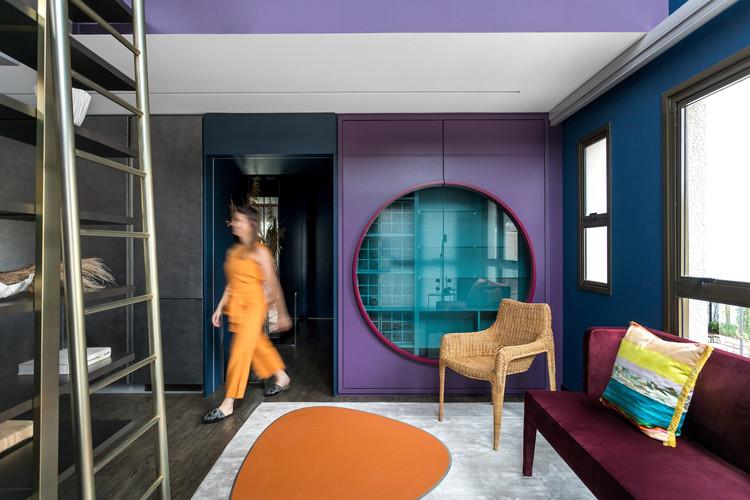 Long House Apartment / Talita Nogueira Arquitetura, © Eduardo Macarios