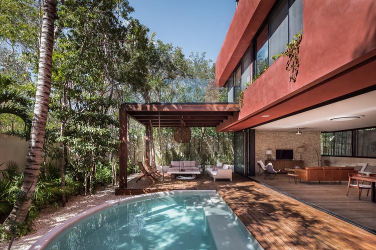 Casa Amaranto Tulum / Studio Arquitectos. Image © Pablo García Figueroa