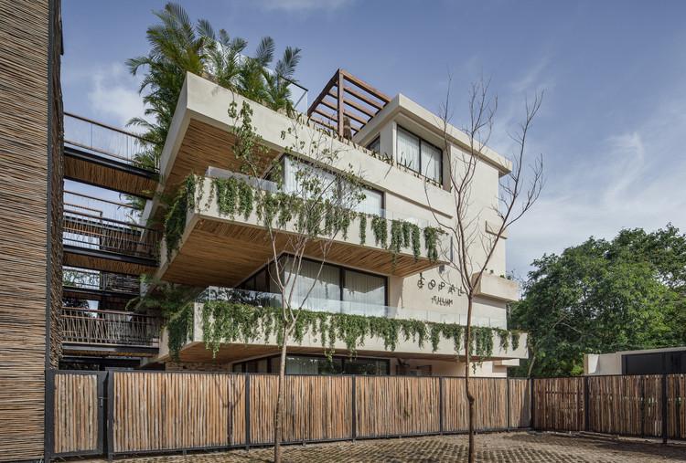 Edificio Copal Tulum / Studio Arquitectos. Image © Pablo García Figueroa