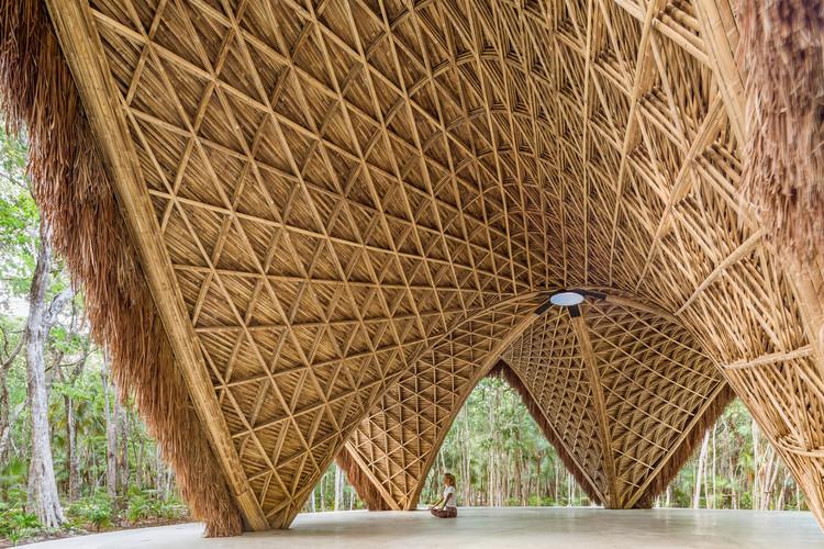 Arquitetura mexicana: projetos para entender o território de Tulum, Templo luum / CO-LAB Design Office. Image © César Béjar