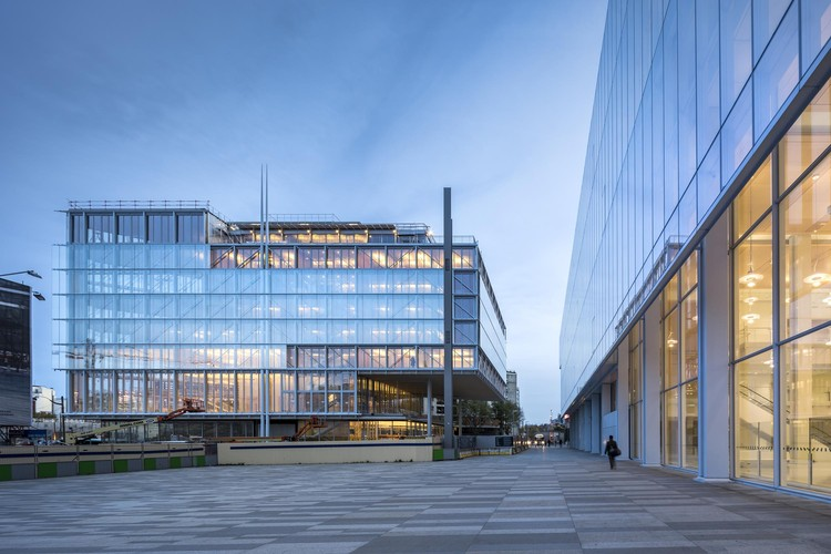 MOdA Headquarters of the Paris Bar Association / Renzo Piano Building Workshop , © Sergio Grazia