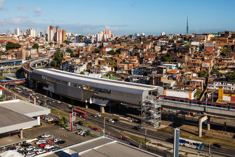 Estação Bonocô de Salvador / Fernandes Arquitetos Associados, © Nelson Kon