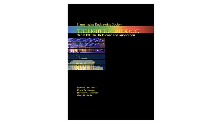 IESNA Lighting Handbook / David L. Dilaura, Kevin W. Houser, Richard G. Mistrick, Gary R. Steffy. Image via Amazon