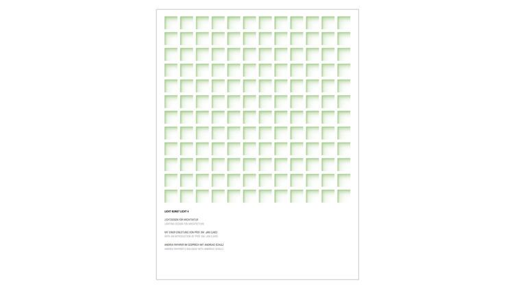 Licht Kunst Licht: Lighting Design for Architecture / Andreas Schulz. Image via Amazon