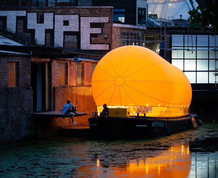 Architecture at Sea: Floating Pavilions and the Beauty of Temporary Art, © Jim Stephenson