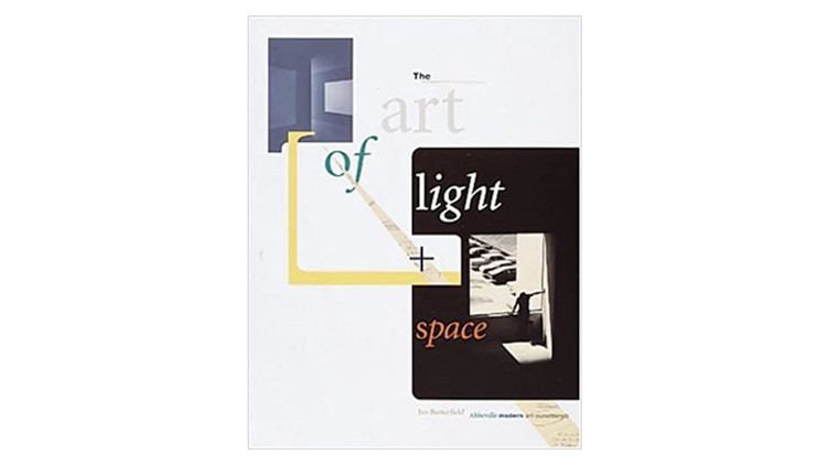 The art of light and space / Jan Butterfield. Image via Amazon