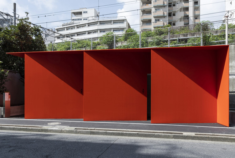 Banheiro Público Higashi Sanchome / Nao Tamura, © Satoshi Nagare, Courtesy of The Nippon Foundation