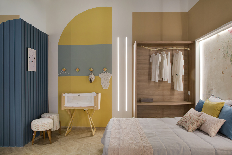 Dormitorios para niños: Cómo diseñar un entorno saludable para el sueño,Cores Apartment / Camila Fleck Arquitetura. Image © Denilson Machado – MCA Estúdio