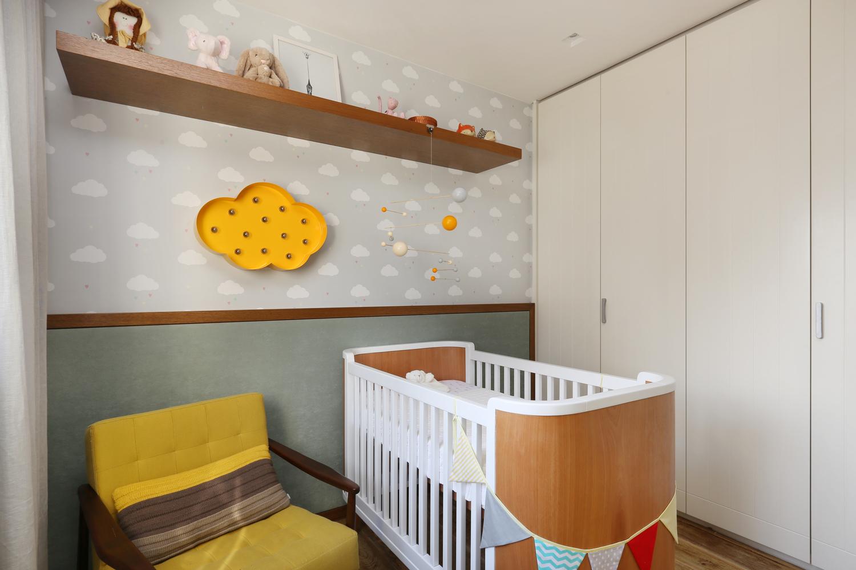 Dormitorios para niños: Cómo diseñar un entorno saludable para el sueño,Apartamento Painel Azul / MAB3 Arquitetura. Image © Mariana Orsi