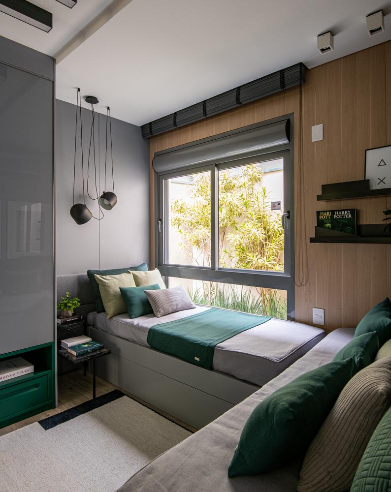 Dormitorios para niños: Cómo diseñar un entorno saludable para el sueño,Apartamento Vitra Cambui / Bohrer Arquitetura. Image © Favaro Jr.
