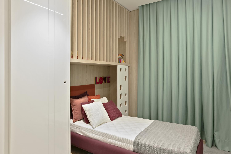 Dormitorios para niños: Cómo diseñar un entorno saludable para el sueño,Apartamento Arch 103 / Bohrer Arquitetura. Image © Fellipe Lima