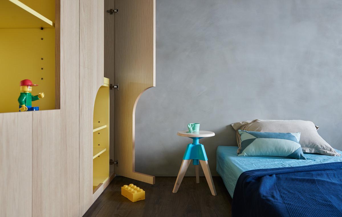 Dormitorios para niños: Cómo diseñar un entorno saludable para el sueño,Blue and Glue / HAO Design. Image © Hey! Cheese