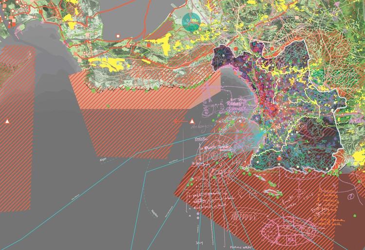 """MVRDV y la Universidad Tecnológica de Delft publican """"Le Grand Puzzle"""", un estudio urbano de Marsella en el sur de Francia, Cortesía de MVRDV"""