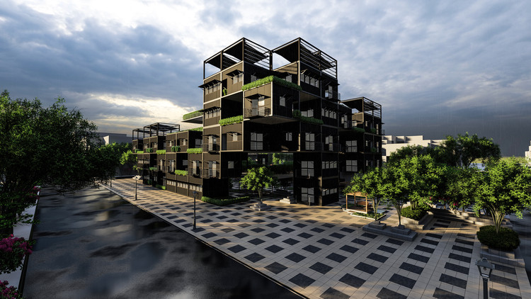 Reparametrize Studio Reveals Innovative and Smart Post-War Housing System, Using Advanced AI Technology, Courtesy of Reparametrize Studio