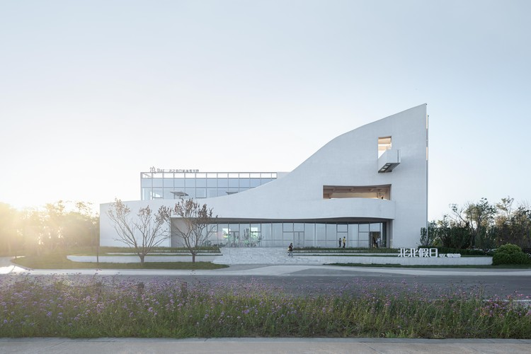 BeiBei Holiday BSC Marine Base / Benjai architecture, © Ripei Qiu