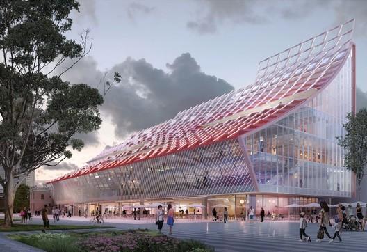 5 Parramatta Square. Image Courtesy of City of Parramatta