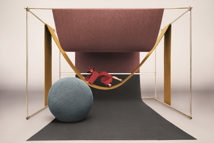 Red-Carpet Treatment: OBJECT CARPET x Ippolito Fleitz Group, Carpet goes fashion: Monica Menez's world of images makes two important aspects of the new collection sensually tangible: its spatial design power and combinability