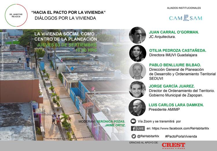 LA VIVIENDA SOCIAL COMO CENTRO DE LA PLANEACIÓN, Cortesía de ReHabitar Mx. Fotografía cortesía de JC Arquitectura.
