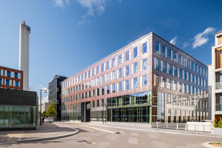 Hammarbyterrassen Goodbye Kansas HQ / AIX Arkitekter, © Lasse Olsson