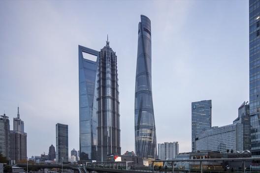 Shanghai Tower / Gensler. Image © Gensler/Shen Zhonghai